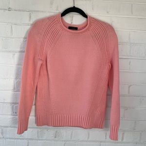 J.Crew pink knit sweater, NWOT.